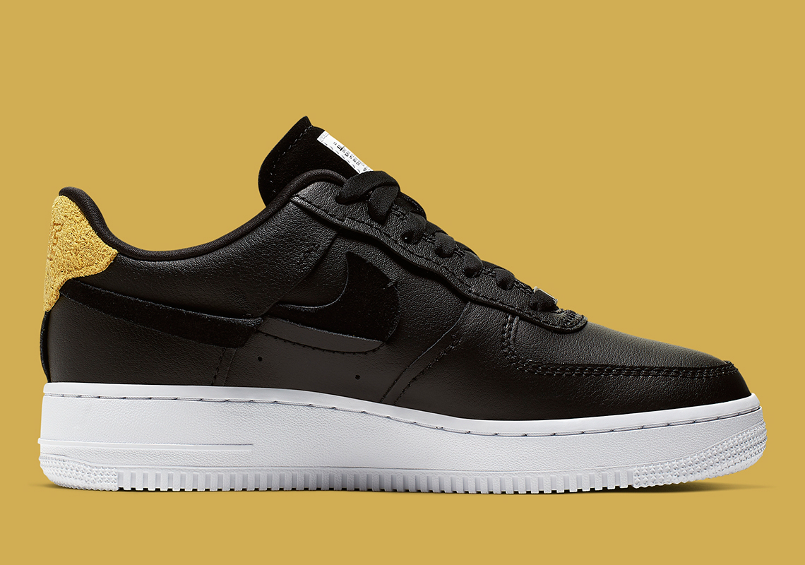 pas cher pour réduction 568fd 69df1 Nike Air Force 1 Vandalized Black White 898889-014 Release ...