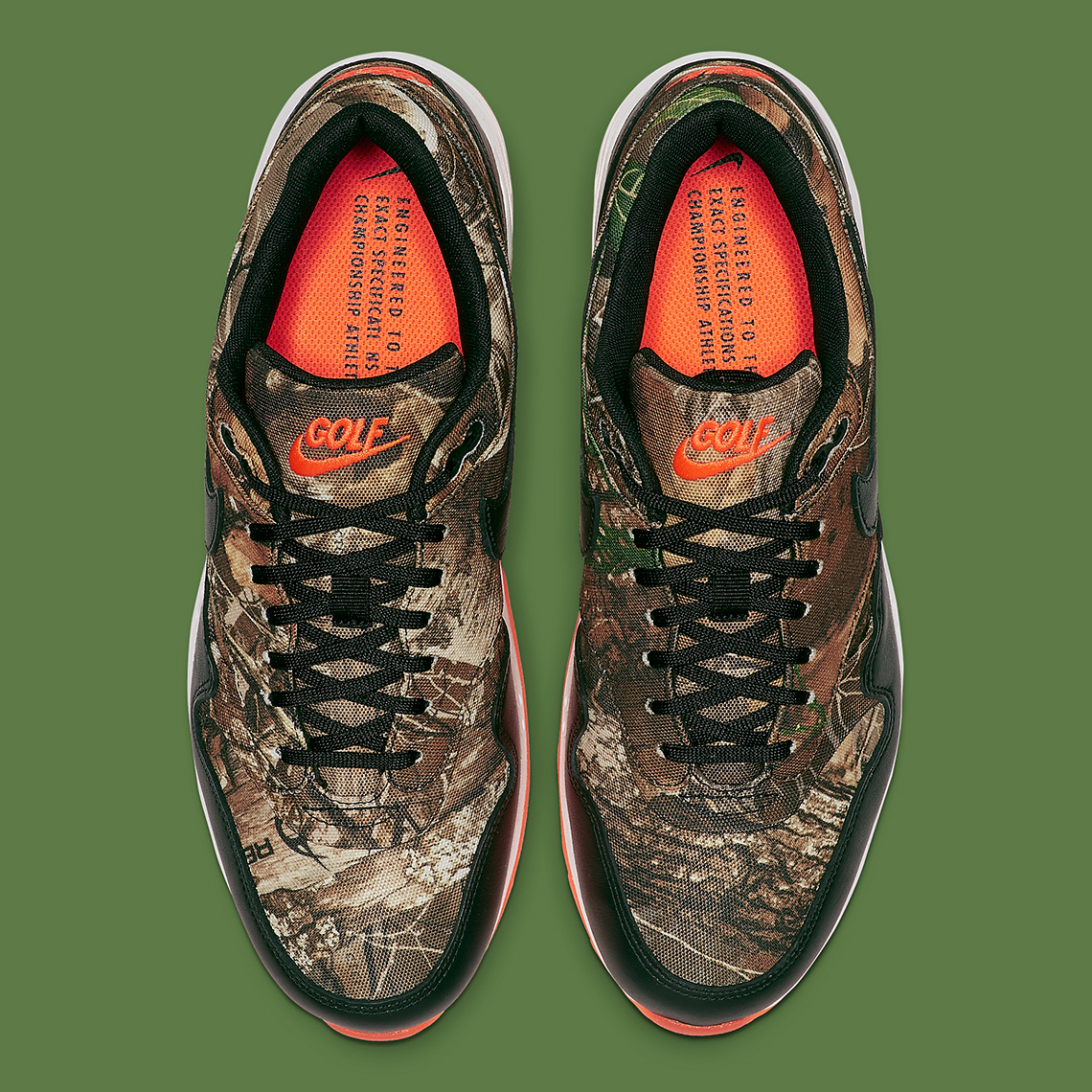 Nike Air Max 1 Golf Realtree Camo BQ4804 210 Release Date