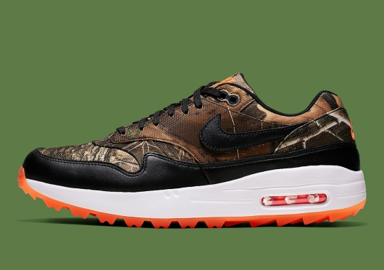 The Nike Air Max 1 Golf Gets Realtree Camo Uppers