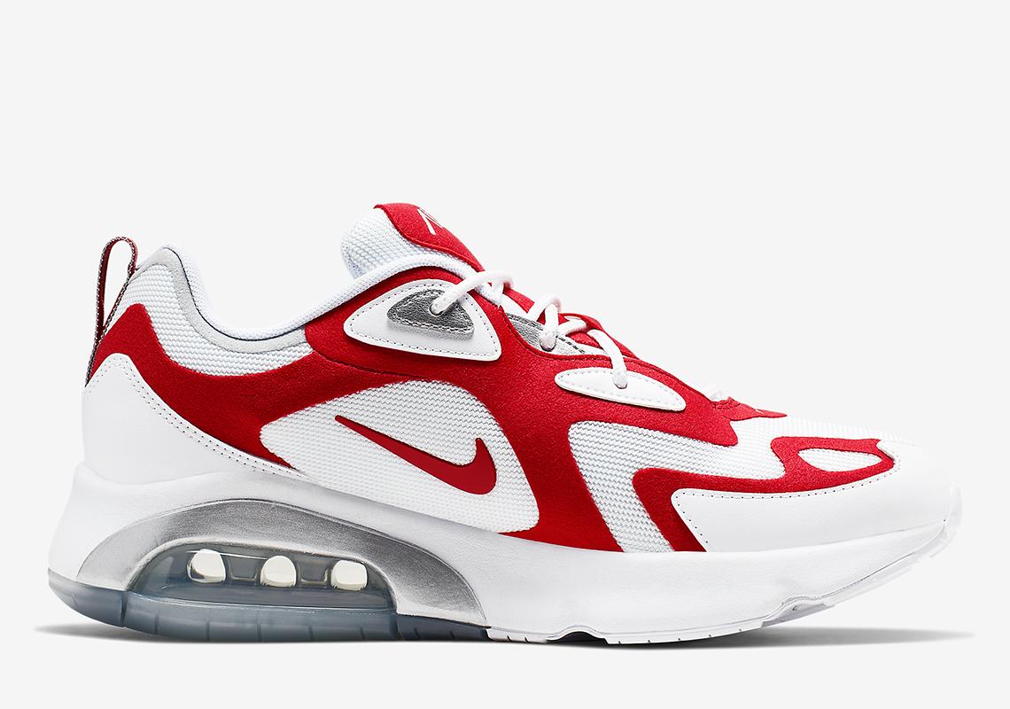 timeless design 127fb ecb5a Nike Air Max 200 White Red AQ2568-100 | SneakerNews.com