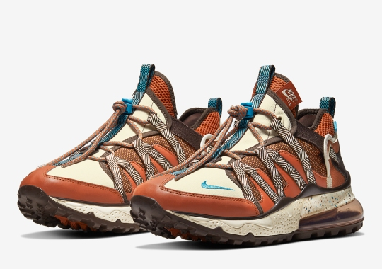 "The Nike Air Max 270 Bowfin Gets A Rustic ""Russet Brown"" Colorway"