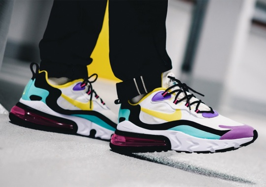 "Where To Buy The Nike Air Max 270 React ""Geometric Art"""