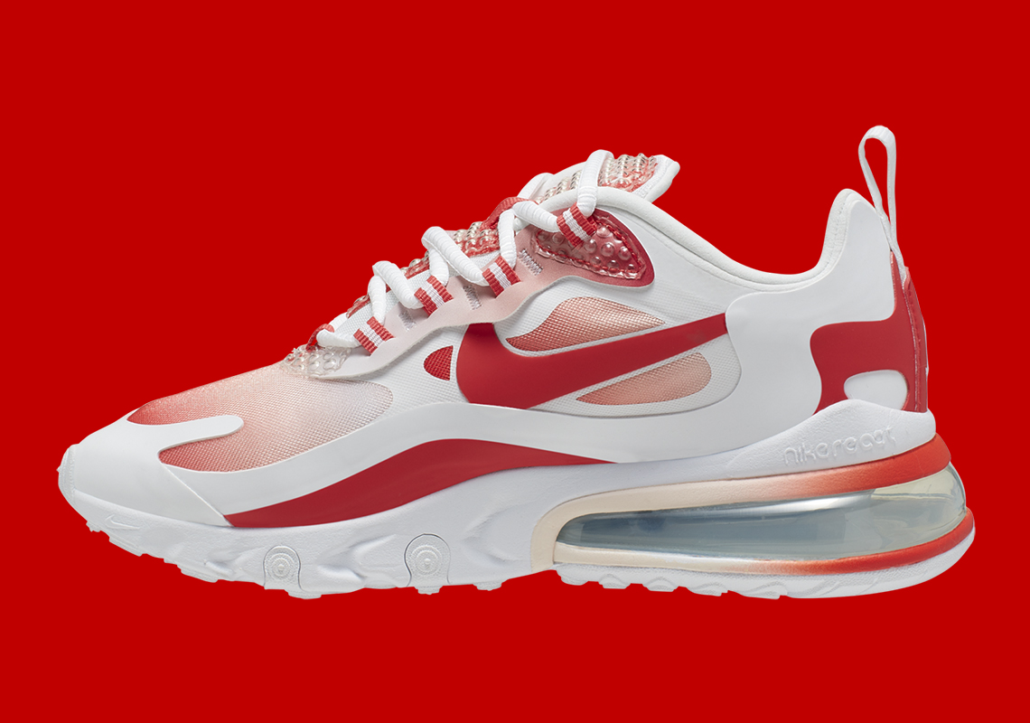 air max 270 react red gradient