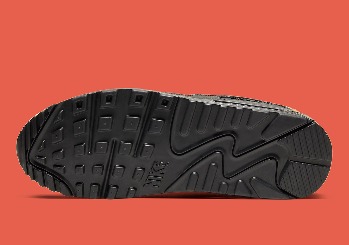 Nike Air Max 90 Wheat Black AJ1285 700 Release Info