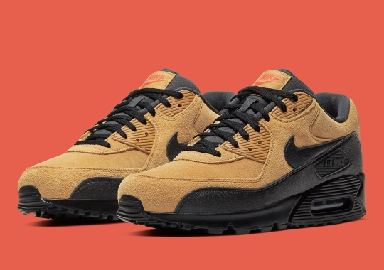 Nike's Air Max 90 Prepares For Fall With New Wheat And Black Colorway