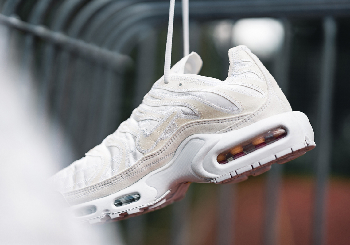 cozy fresh reputable site best online Nike Air Max Plus Deconstructed Beige CD0882-100 Release ...