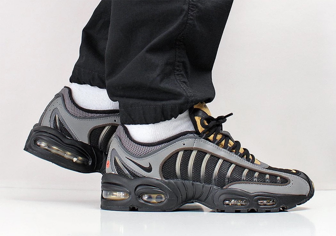 The Nike Air Max Tailwind IV Emerges In Pewter And Gold