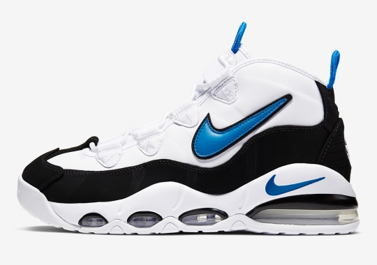 Nike Air Max Uptempo Gets Photo Blue Accents