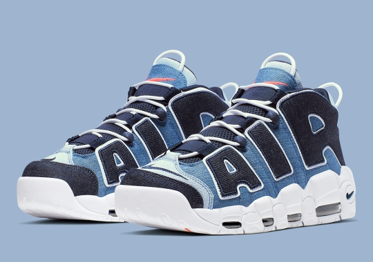 "Where To Buy The Nike Air More Uptempo ""Denim"""