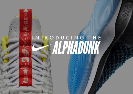 The Nike AlphaDunk Was Built For The Game's Highest Jumpers