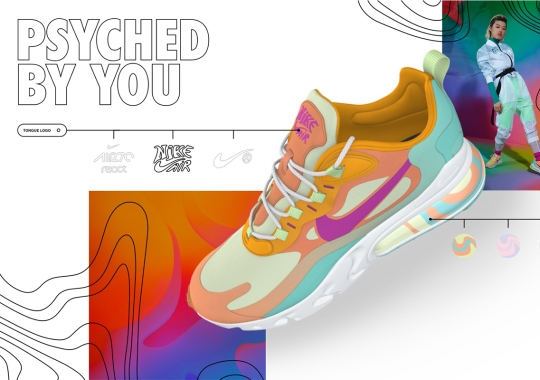 """Nike By You Adds Psychedelic Design Options For The """"Psyched By You"""" Collection"""