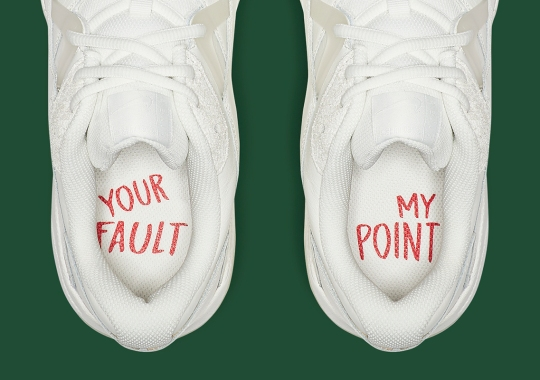 This Nike Court Lite 2 Features A Message On Its Insoles