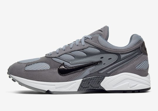 The Nike Air Ghost Racer Returns In Grey Hues For Dad Shoe Lovers