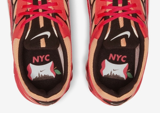 """The Nike Air Ghost Racer """"NYC"""" Features An Apple Core Logo"""