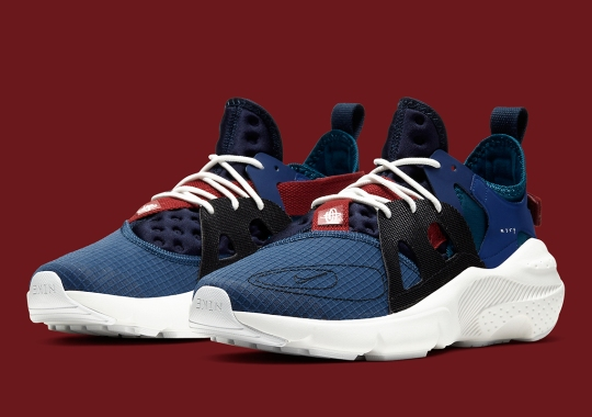 The Nike N.354 Huarache Type Receives Navy Blue Uppers