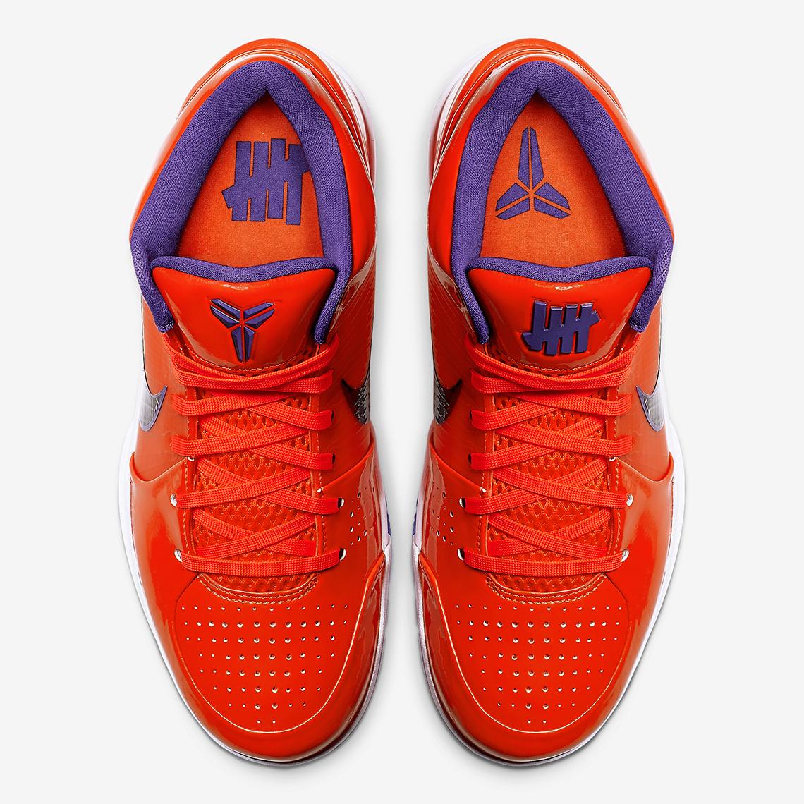 best authentic 61ec2 32b48 Undefeated Nike Kobe 4 Protro Devin Booker CQ3869-800 ...