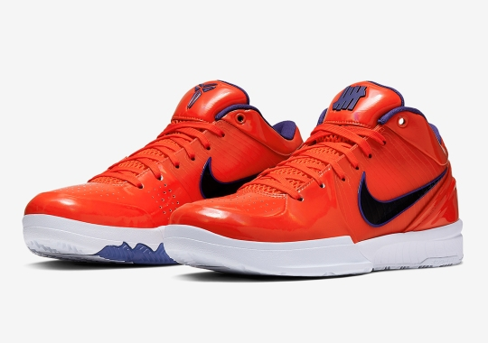 "Official Images Of The UNDEFEATED x Nike Zoom Kobe 4 Protro ""Devin ""Booker"""