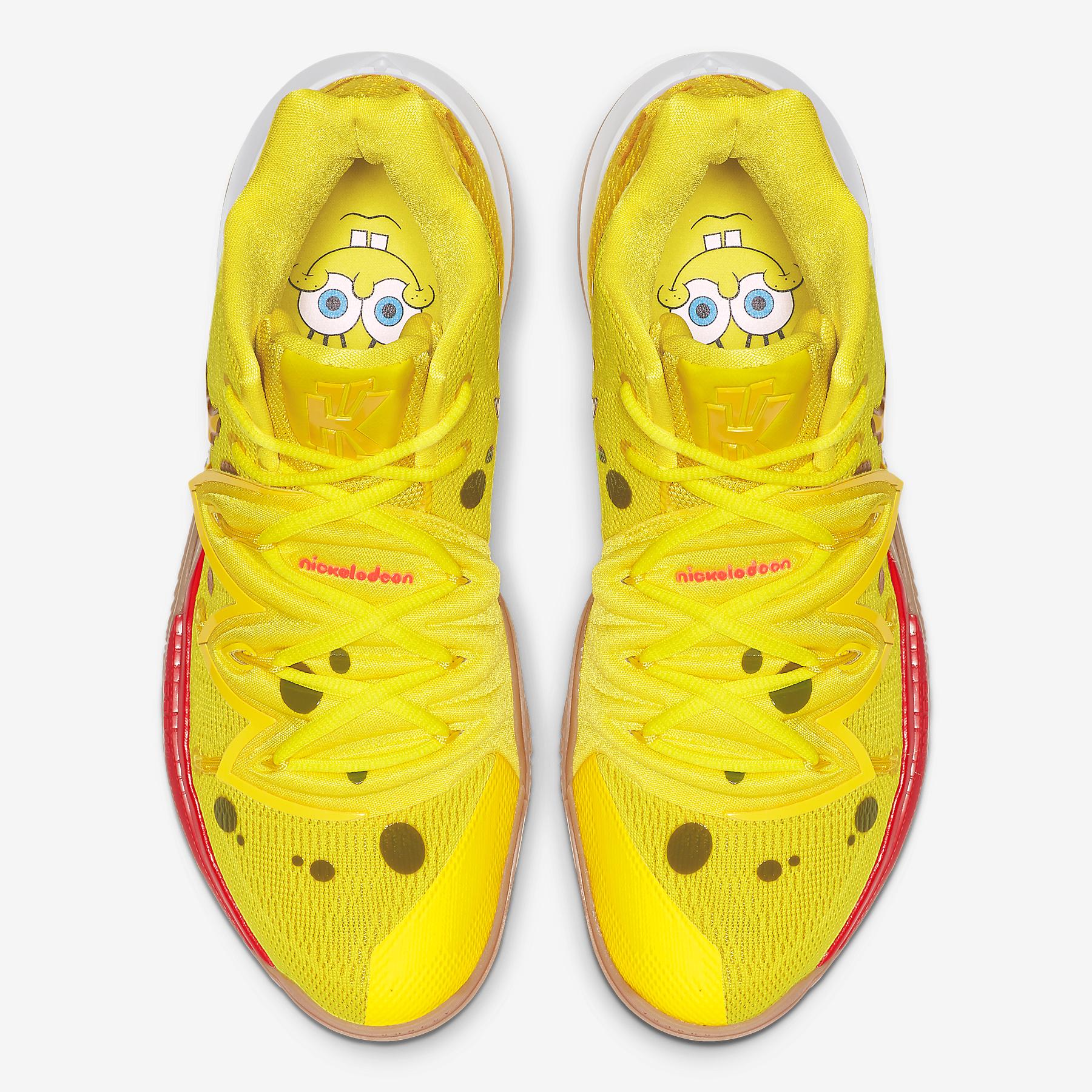 Nike Kyrie 5 Spongebob Patrick CJ6951