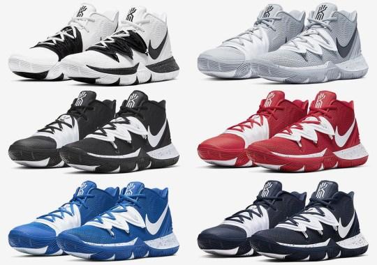 The Nike Kyrie 5 Is Releasing In Team Bank Colorways