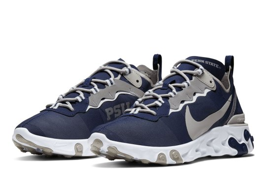 The Penn State Nittany Lions Get The Nike React Element 55 Honor