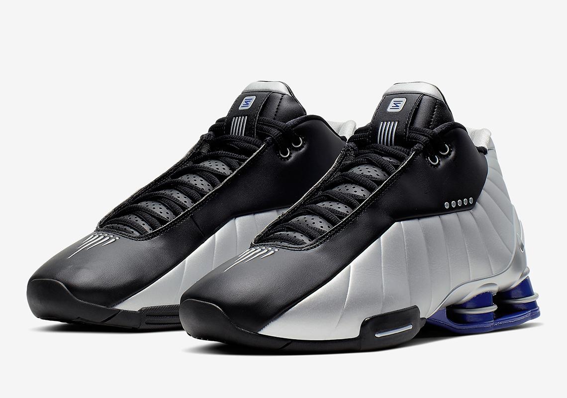 Nike Shox BB4 Black Metallic Silver Purple AT7843-001 Release Info ...