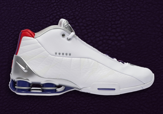 "This Nike Shox BB4 Honors Vince Carter's Raptors ""Air Canada"" Days"