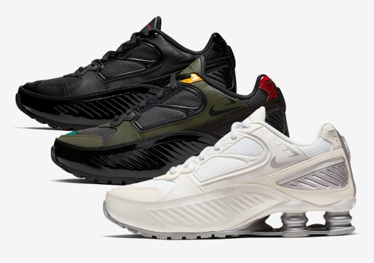 The Nike Shox Enigma Returns On September 5th In Three Colorways