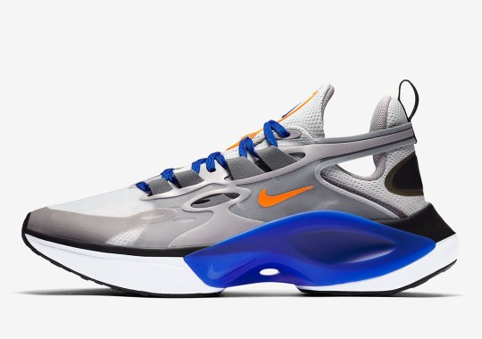 """The Nike Signal D/MS/X Continues Its Streak With """"Knicks"""" Colors"""