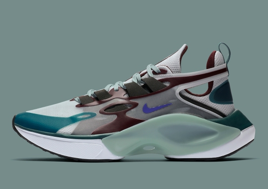 Nike Signal D/MS/X Expands Its Legacy With New Teal And Burgundy Colorway