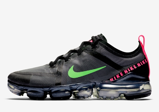 The Nike Vapormax 2019 Emerges In Another Neon-Punched Colorway