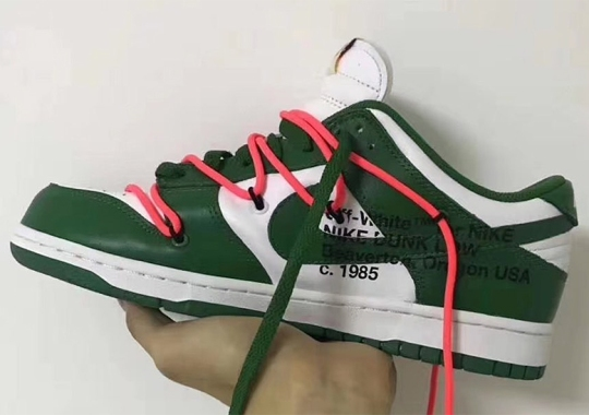 Virgil Abloh Confirms Three Versions Of The Off-White x Nike Dunk Low