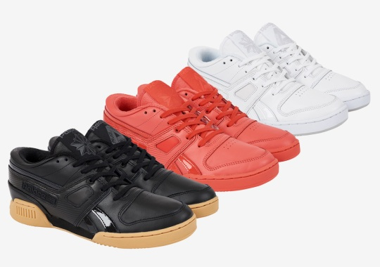 Palace Skateboards And Reebok Reveal Three Iterations Of The Pro Workout Low