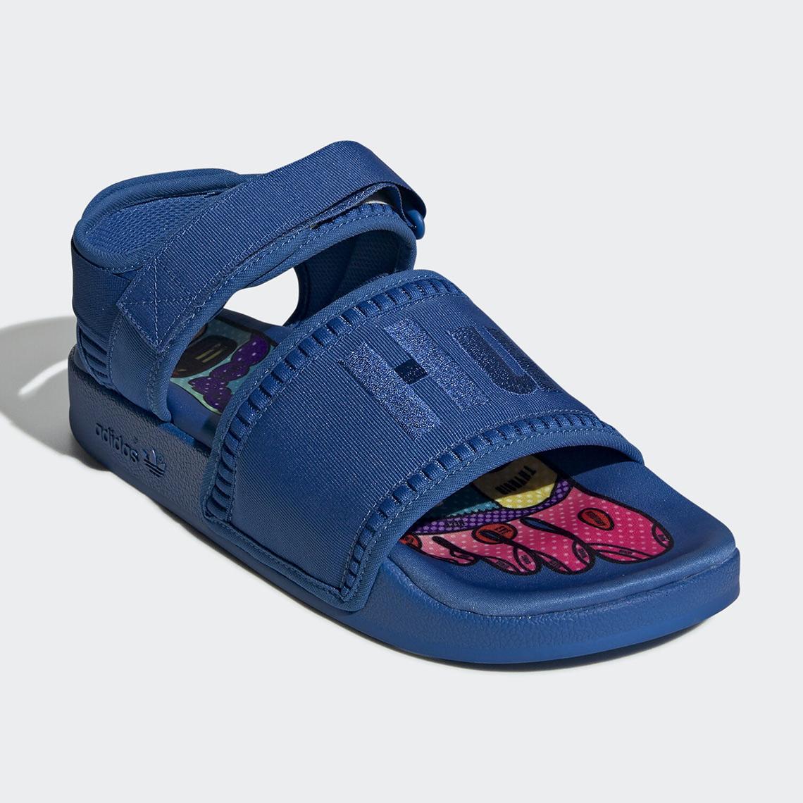 Pharrell adidas Adilette 2.0 Sandals Hu Release Date
