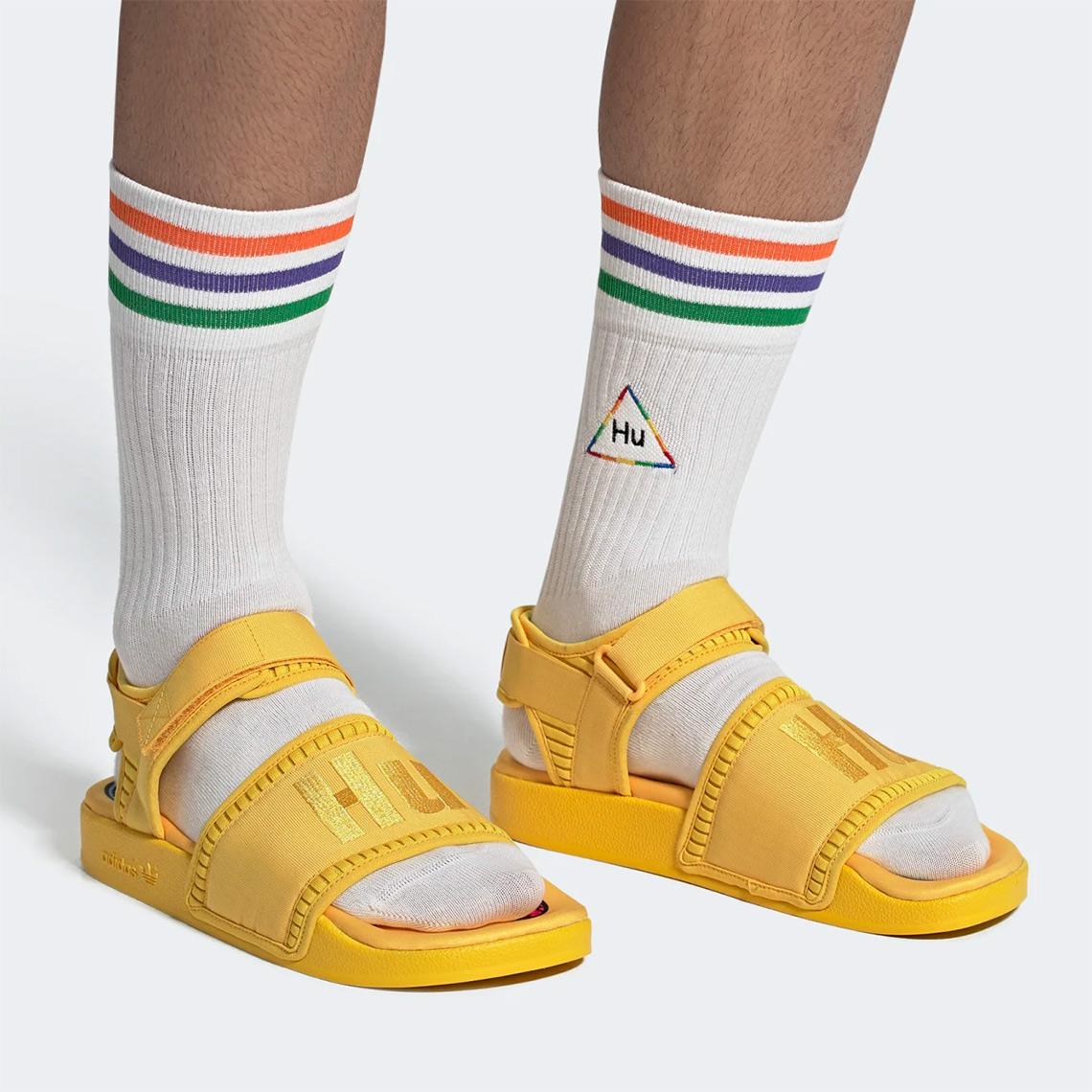 Pharrell adidas Adilette 2.0 Sandals Hu