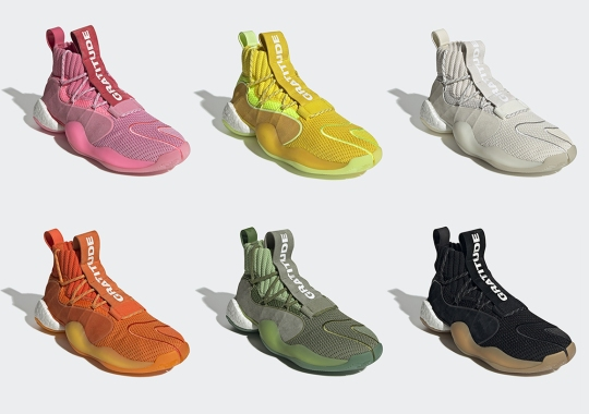 "Pharrell's adidas Crazy BYW X Returns With Six New ""Gratitude"" Colorways"