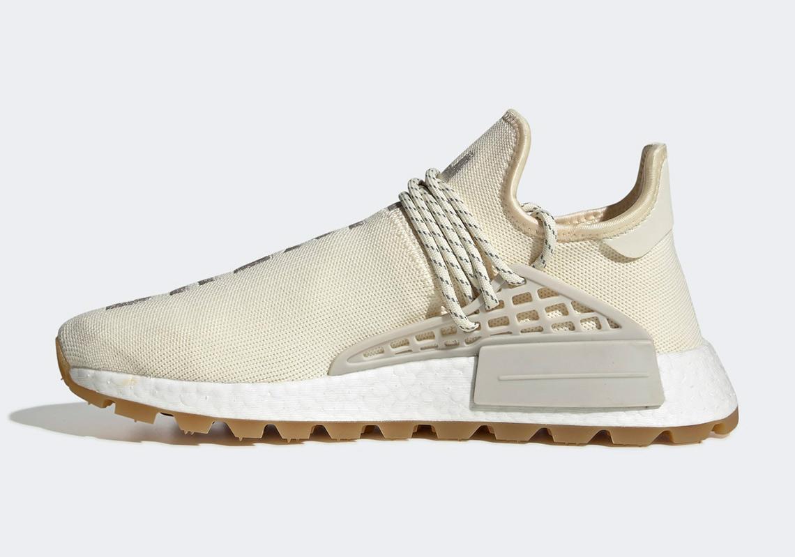 official photos 55c27 3df0b Pharrell adidas NMD Hu TR Cream White EG7737 | SneakerNews.com