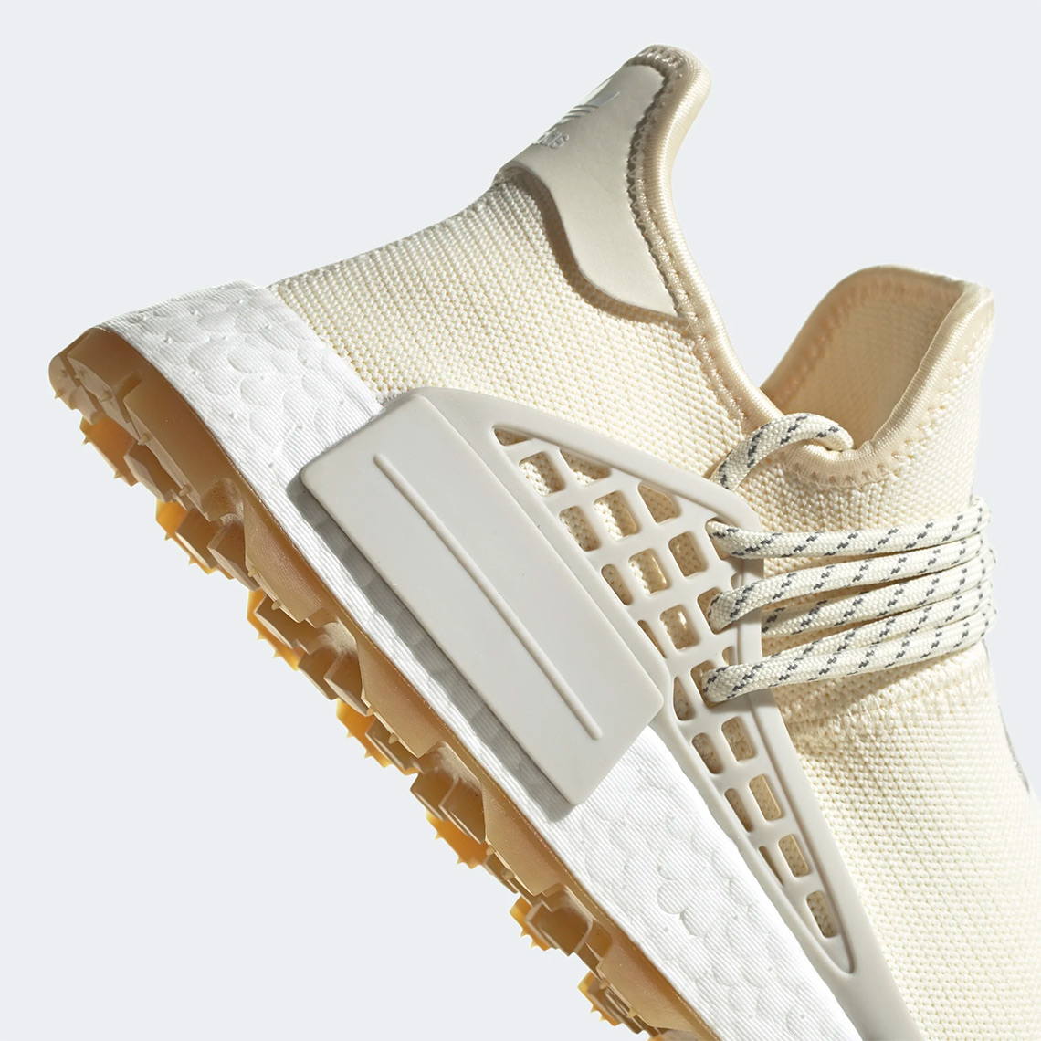 Pharrell adidas NMD Hu TR Cream White EG7737 |