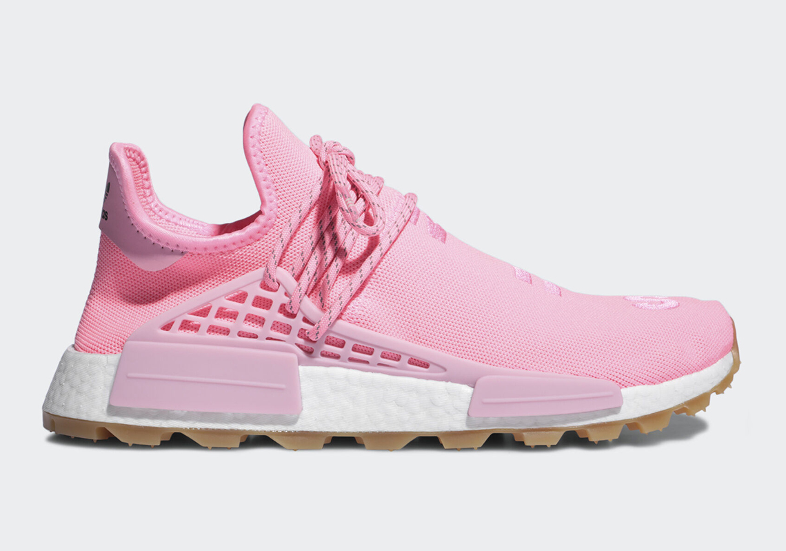 new arrivals 7ead3 bb304 Pharrell adidas NMD Hu Trail Sun/Calm Pink EG7740 ...
