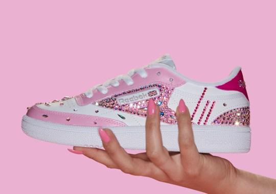 Reebok Is Giving Away Swarovski Crystal Encrusted Sneakers Via Amazon And Google Home