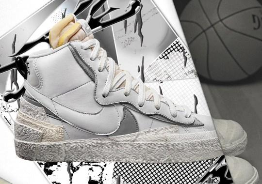sacai Reveals Release Info For Upcoming Nike Blazers