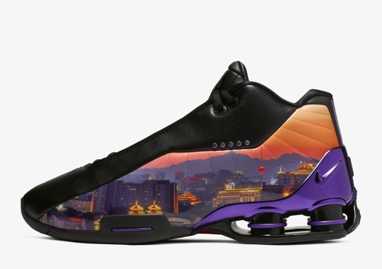 "The Nike Shox BB4 ""China Hoop Dreams"" Features The Beijing Skyline"