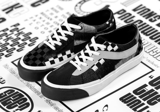 Size? And Vans Continue Patchwork Series With The Bold Ni