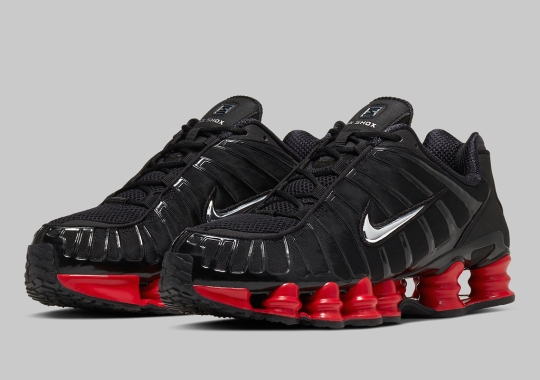 Official Images Of The Skepta x Nike Shox TL