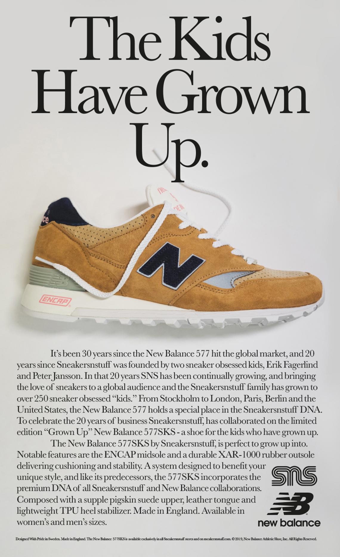 c70b6f3543 Sneakersnstuff New Balance 577 Release Date | SneakerNews.com