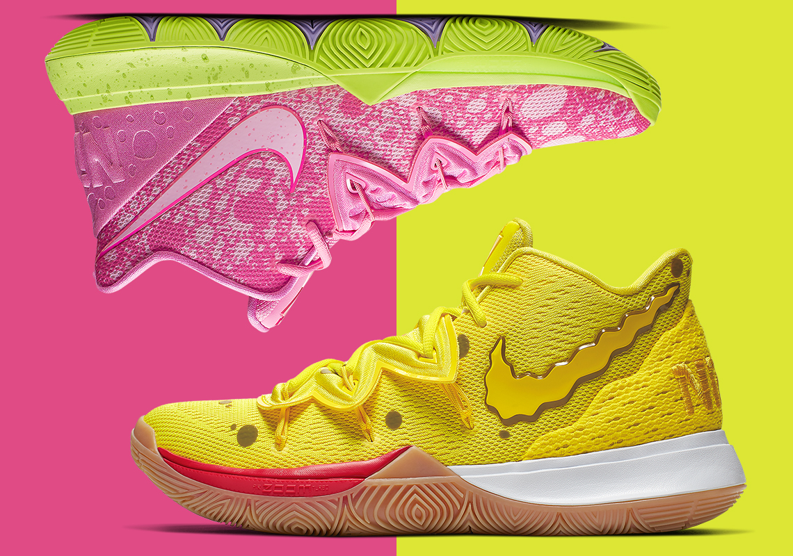 Nike Kyrie 5 Spongebob Patrick CJ6951 700 EU Release Date