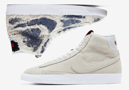 "Where To Buy The Stranger Things x Nike Blazer ""Upside Down"""