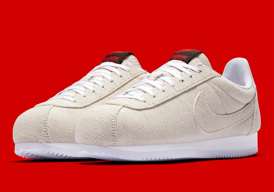 Stranger Things Nike Cortez Upside Down CJ6107 100 Release