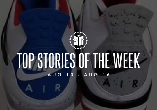 Fourteen Can't Miss Sneaker News Headlines From August 10th To August 16th