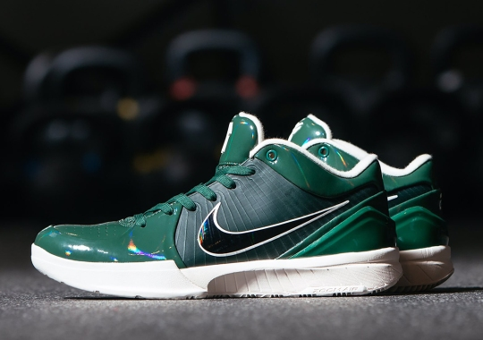 "UNDEFEATED's Nike Kobe 4 Protro ""Fir"" Is Made For Giannis Antetokounmpo"