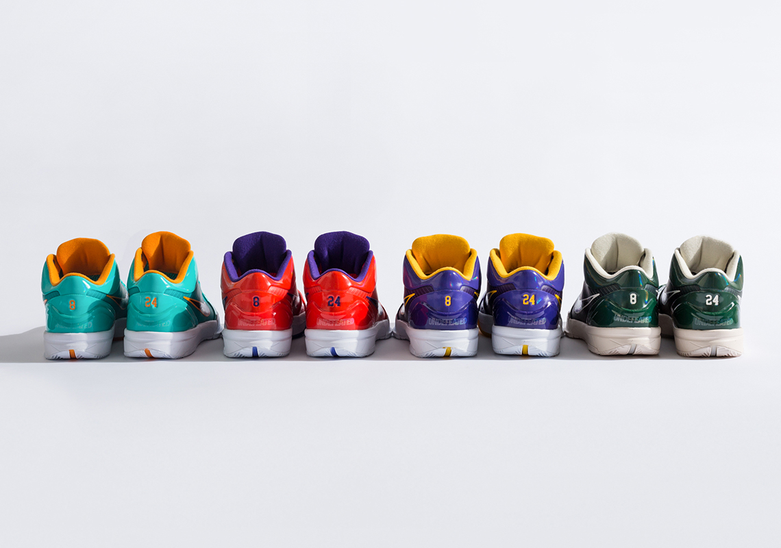 The UNDEFEATED x Nike Kobe 4 Protro Collection Releases Tomorrow